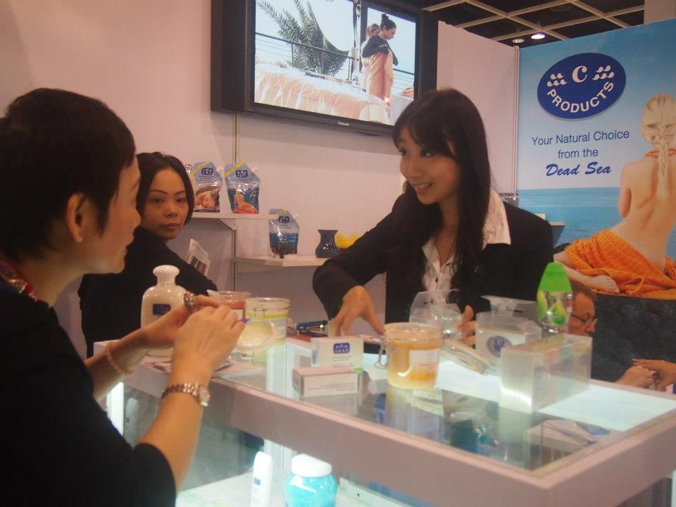 Trying c-products at Cosmoprof Asia 2012