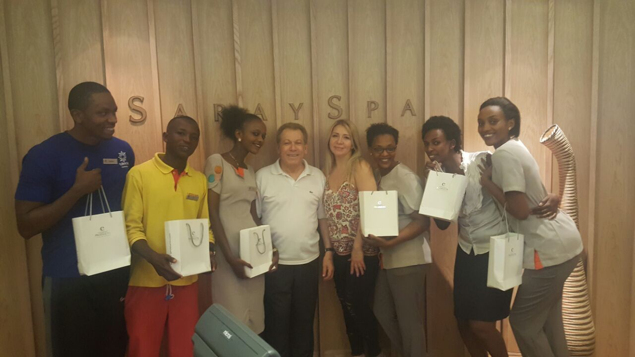 c-Products Training at Marriott Kigali Hotel (2017)