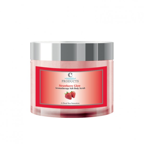 C-Products Strawberry Glow Body Scrub